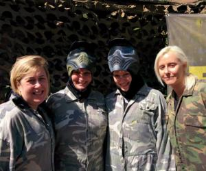 Hen Party Paintballing in Rugby