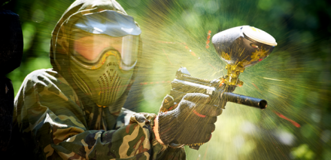 Who dares plays Paintball
